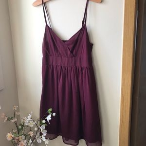 ONLY Maroon Dress